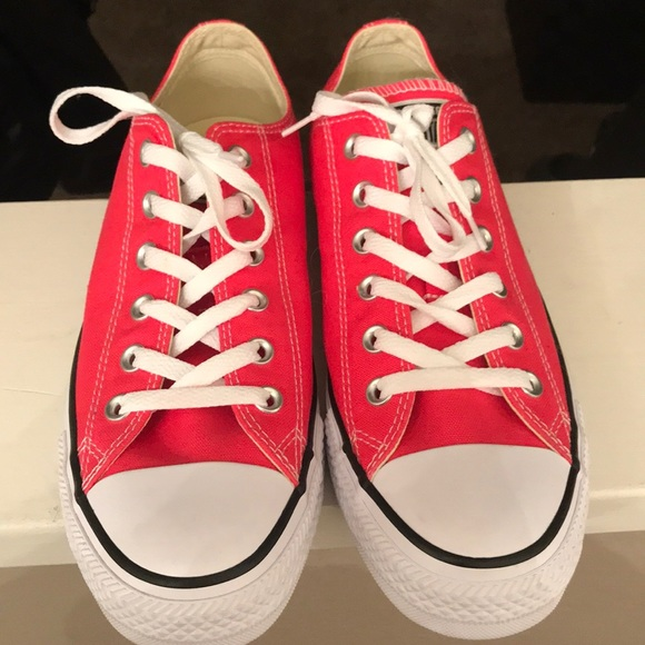 844996f1f943 Converse Shoes - Hot pink Converse size 10 women s